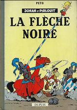 RARE EO FRANÇAISE CARTONNÉE 1959 PEYO JOHAN & PIRLOUIT, TOME 7 : LA FLÈCHE NOIRE