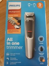 Philips cordless multigroom hair and face trimmer (series 3000) Mg3722 9 Tools