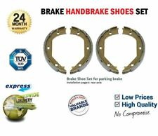 Rear Axle HANDBRAKE SHOES SET for BMW 5 (E39) 528 i 1995-2000