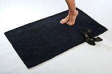 100% baumwolle hochwertige badezimmerteppiche, schwarz, Verwendet beidseitig