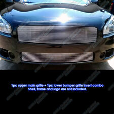 Fits 2009-2014 Nissan Maxima Billet Grille Grill Combo Insert