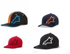 Alpinestars Corp Shift 2 Flexfit Hat Basebal Casual Cap Hat Black White Blue