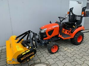 KUBOTA BX231 Traktor, Kleintraktor, Kompakttraktor, Frontmähwerk, Frontmulcher