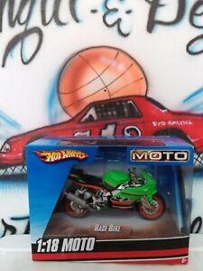 Hot Wheels Diecast 1:18 Scale MOTO Rage Bike Motorcycle