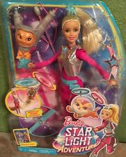 Barbie Star Light Galaxy Barbie Doll & Flying Cat Star Light Adventure Doll NEW