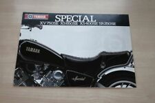 196861) Yamaha SR 250 XS 400 650 XV 750 SE Prospekt 198?