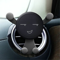 Universal 360° Rotating Gravity Car Stand Holder Mount Air Vent For Mobile Phone