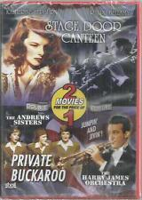Stage Door Canteen Private Buckaroo DVD New  Andrews Sisters Katherine Hepburn
