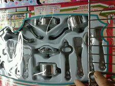 Set cucina pentole e attrezzi Kit gioco di qualità giocattolo toy a35