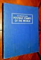 CatalinaStamps: Worldwide Stamp Collection 1400 Stamps in 1960 Harris Album,D319