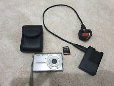 Casio EX-Z75 Exilim 7.2 MP. 3x Optical Zoom Digital Camera - Silver (Untested)