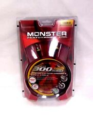 NEW Monster Cable 300 Series 6FT Car 2M Composite Video