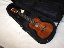 HILO 2955 Solid Koa acoustic concert UKULELE new UKE w/ Light CASE