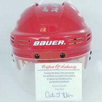 Darren McCarty signed Detroit Red Wings mini helmet autographed