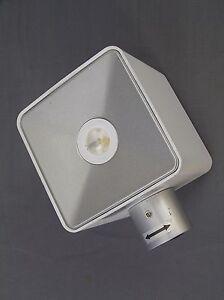 Crompton 3W LED Exterior White Wall Light 4100K Cool White Asher (FA1867W)