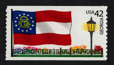 UNITED STATES, SCOTT # 4285, SINGLE STAMP STATE OF GEORGIA FLAG, MNH