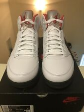 NIKE AIR JORDAN 5 2020 FIRE RED MENS SIZE 9  100% Authentic From DTRL Brand New.