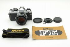 �Exc+】Nikon Fe body w/Nikkor Ai 50 1.4 Lens,Strap,manual from Japan #666