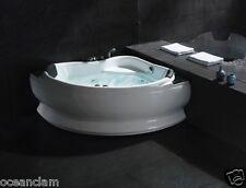 DOUBLE 2 people CORNER massage jets bath bathtub 1300mm TOP QUALITY ACRYLIC