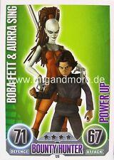 Star Wars Force Attax  Boba Fett & Aurra Sing #120