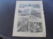 1889 Zeitungsdruck 347 / Himalaya