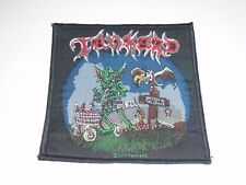 TANKARD ONE FOOT IN THE GRAVE WOVEN PATCH