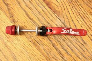 NOS Salsa CNC Flip-Off Seatpost QR Quick Release Skewer Red MTB Retro Classic