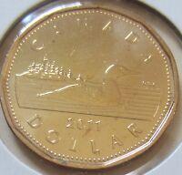 BRI 1977 Canada Proof-Like//Specimen One Dollar Coin UNC. RJ354