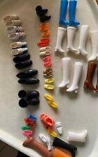 54 Pc Lot-Vintage Barbie & Ken & Friends Boots & Shoes-19 Pair, Plus mismatched