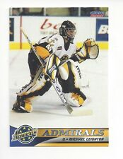 2001-02 Norfolk Admirals (AHL) Michael Leighton (Utica Comets) **FIRST CARD**