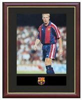 Ronald Koeman Mounted Framed & Glazed Memorabilia Gift Football Soccer