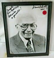SHERWOOD SCHWARTZ HAND SIGNED 8x10 PHOTO GILLIGAN'S ISLAND  BRADY BUNCH