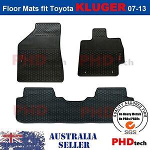 Premium Quality All Weather Rubber Car Floor Mats KLUGER 2007-2013 KLUGER logo