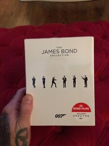 The James Bond Collection Blu-Ray Box Set 24 films Brand New Factory Sealed
