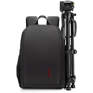 Large Waterproof DSLR SLR Camera Backpack Rucksack Bag Case For Nikon Sony Canon