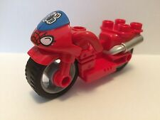 Baukästen & Konstruktion LEGO Bausteine & Bauzubehör Lego Spiderman Spinne Fahrrad Jagd Ersatz Aufkleber-Bogen Set #76004 Neu