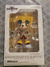 NEW Square Enix Play Arts Vol. 2 Kingdom Hearts 2 King Mickey Mouse No. 6 SEALED