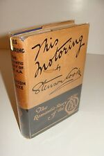 This Motoring SIGNED by Stenson Cooke 1937 Hardcover Automobile Association