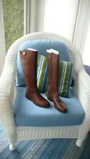 New Franco Sarto riding boots sz 8M  brown women shoes  scotch Cheshire leather