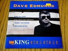 "DAVE EDMUNDS - KING OF LOVE   7"" VINYL EP PS"