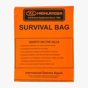 Lightweight Survival Bag Emergency Blanket Outdoor Waterproof Shelter Rescue Kit