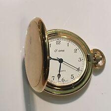 Vintage O'-one Pocket Watch  Quartz Japan Made(O-one)