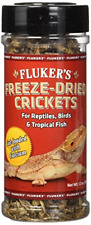 Freeze Dried Crickets Reptiles Tropical Fish Birds Hedgehogs Sugar Gliders