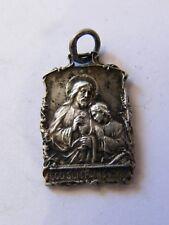 Médaille Argent Plaqué Eco Sum Panis Vivus Jésus