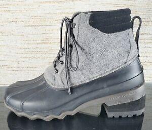 SPERRY TOP-SIDER Avenue Mens Sz 10 Wool Costumized Heels Waterproof Duck Boots