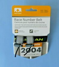 NATHAN RACE NUMBER BELT ~ UNISEX ONE SIZE ~ NEW IN PACKET