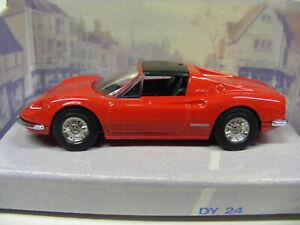 Dinky DY24 Ferrari Dino 246 GTS Red