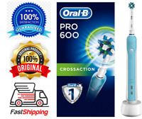 Oral-B CrossAction Electric Rechargeable Toothbrush Powered By Braun PRO600