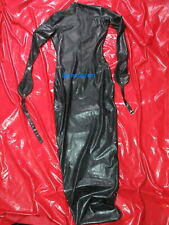 Latex Schalfsack Black Style Rubber Suit Gimp No Demask Latex Anzug No Demask