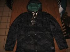 NWT Abercrombie & Fitch Men's Ultra Puffer Down Jacket Navy Blue Size Large